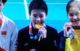 Jin Wei wins historic YOG gold, hockey boys in semis