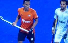 Faizal keeps Malaysia afloat at World Cup