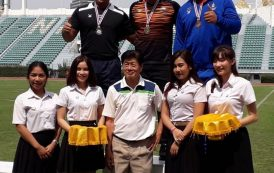 Sarvinder, Norliyana strike gold in Thailand