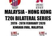 Kinrara to host Malaysia's T20 series with Hong Kong